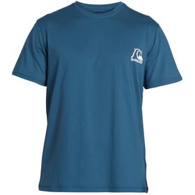 Quiksilver Heritage Kurzarm Surfshirt Herren majolica blue